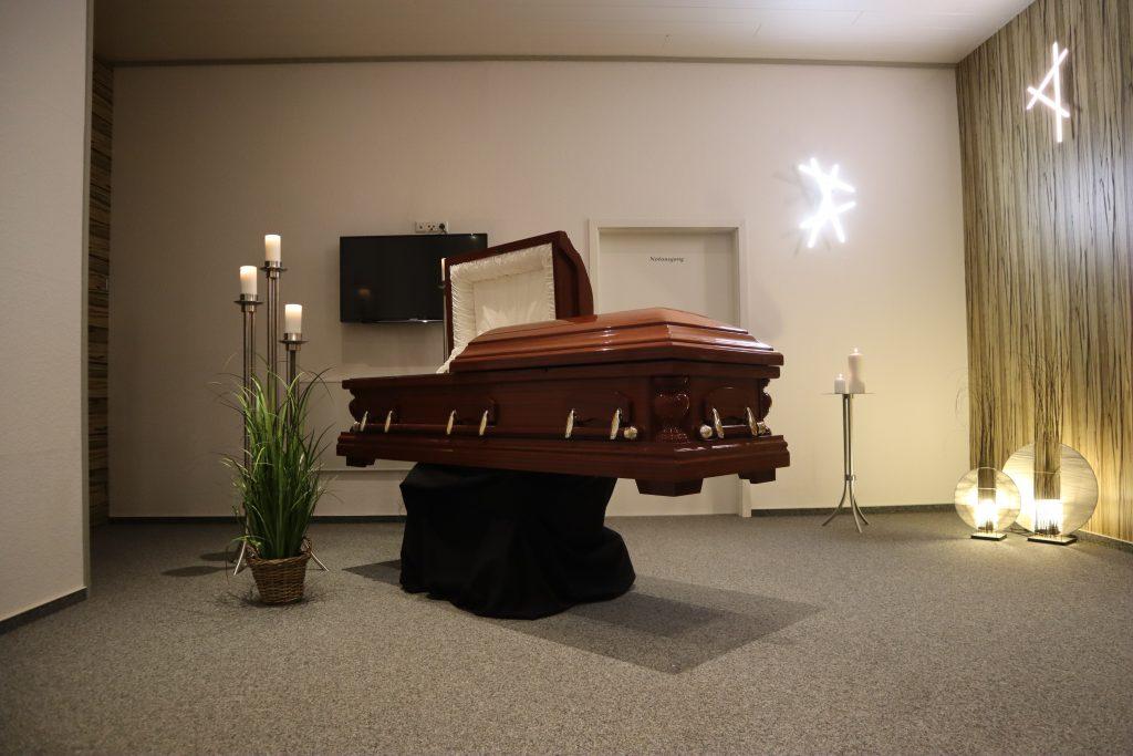 Abschiedsraum Nagel Bestattungen Stutensee
