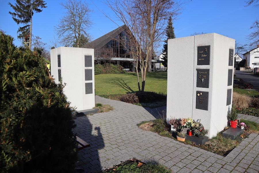 Friedhof Eggenstein-Leopoldshafen - Urnenstele