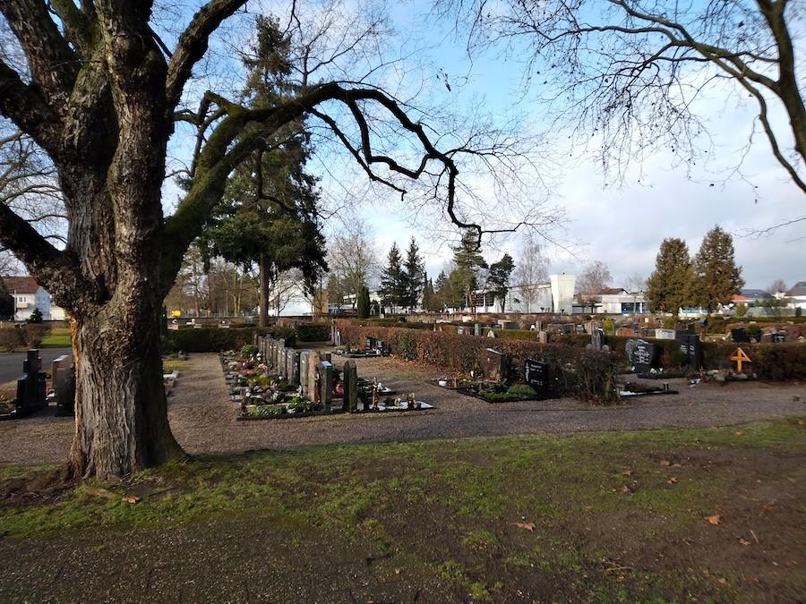 Grabanlagen Friedhof Neuthard